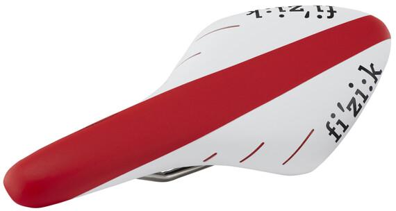 Fizik Arione R5 k:ium Sadel Snake rød/hvid
